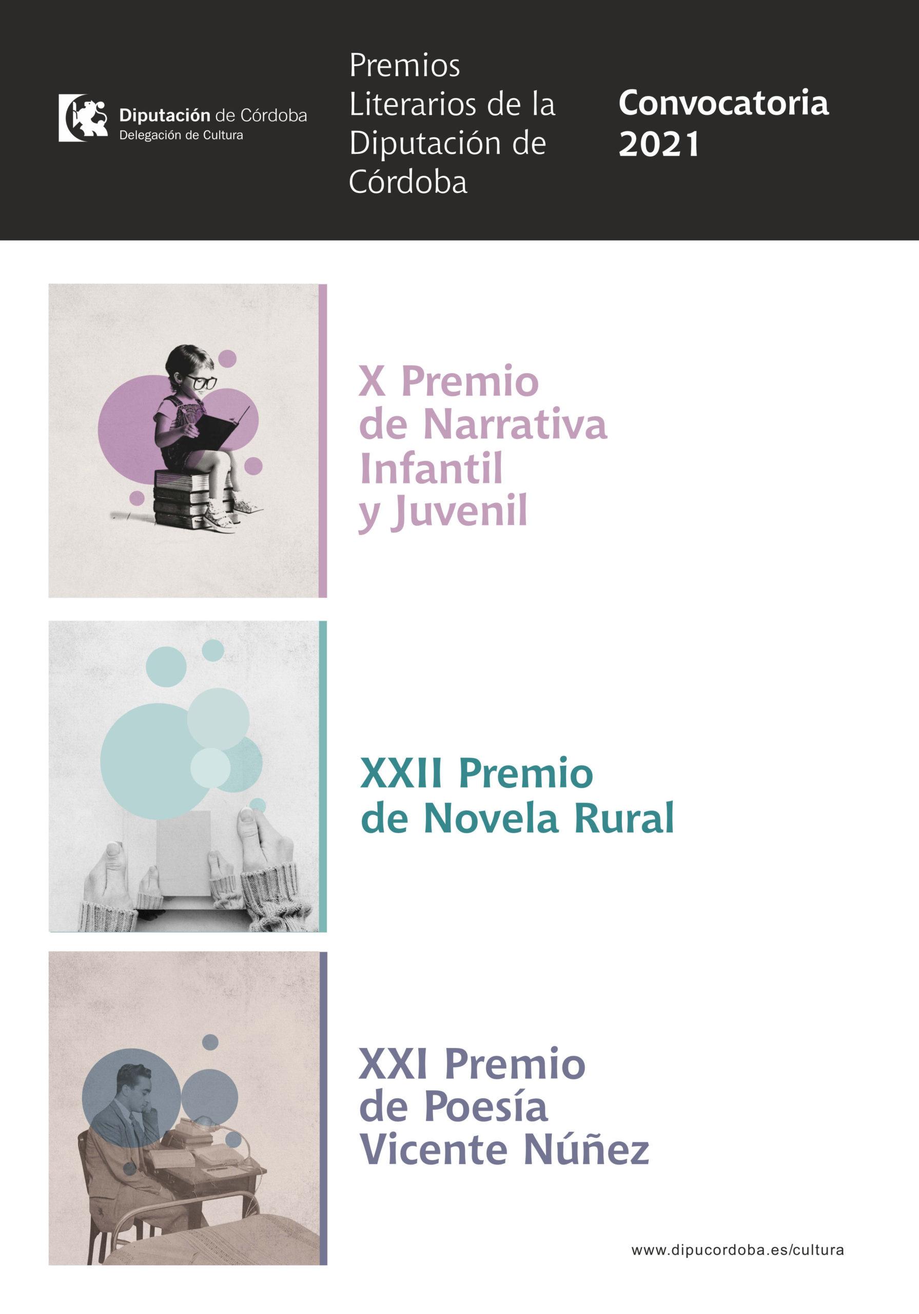 Premios Literarios Diputación de Córdoba 2021